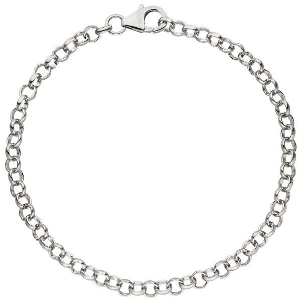 Armband für Charms 925 Sterling Silber 19 cm Erbsarmband